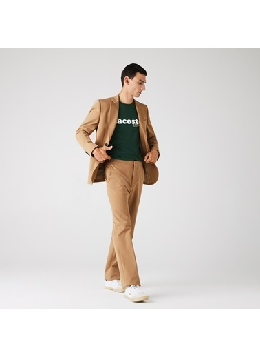 Lacoste Erkek Slim Fit Pantolon HH3488.02S Kahve